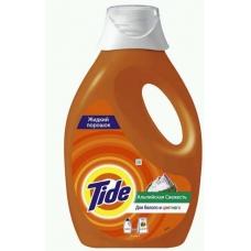 Жидкий стиральный порошок Tide Альпийская свежесть автомат 0,975 л.