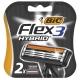 Bic Кассеты Flex 3 Hybrid 2 шт .