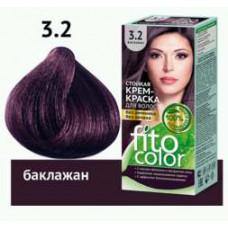 FitoColor  Стойкая крем-краска для волос (цвет баклажан)