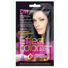 Effect Color Стойкая крем- краска для волос (цвет иссиня-черный)