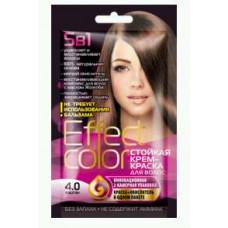 Effect Color Стойкая крем- краска для волос (цвет каштан)