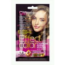 Effect Color Стойкая крем- краска для волос (цвет золотистый каштан)