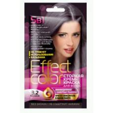Effect Color Стойкая крем- краска для волос (цвет баклажан)