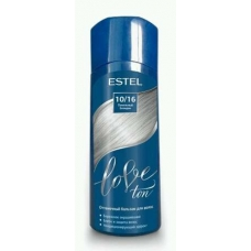 Estel LOVE Оттеночный бальзам для волос 10/16 Пепельный блондин