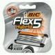 Bic Кассета Flex 5 Hybrid 4 шт .