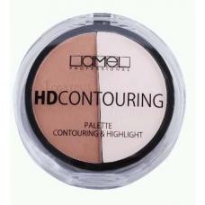 Lamel Professional HD CONTOUR Пудра для скульптурирования лица 101 жемчужно-коричневый