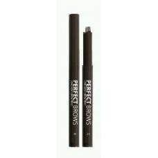 Lamel Professional Механический карандаш для бровей PERFECT BROWS 01 темно-коричневый