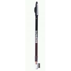 Lamel Professional Карандаш для глаз и бровей BROW AND EYE 01 черный/коричневый