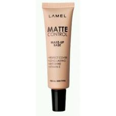 Lamel Professional Тональный крем MATTE CONTROL 01 слоновая кость