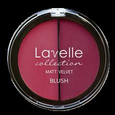 Lavelle Румяна компактные 2-цветные 04 Ягодный