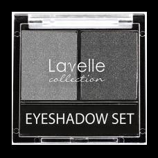 Lavelle Тени для век двойные 01 Темно-серый