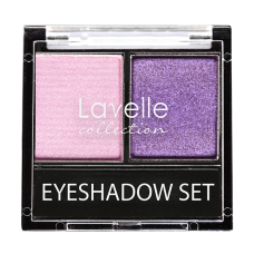 Lavelle Тени для век двойные 10 Розово-фиолетовый
