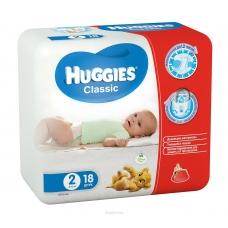 Подгузники Huggies Classic 2 (3-6 кг) 18 шт