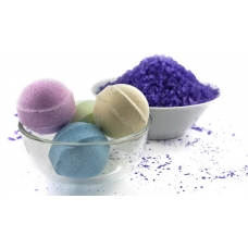 Cоль для ванн Alvin D'or Шипучий гейзер фиолетовая