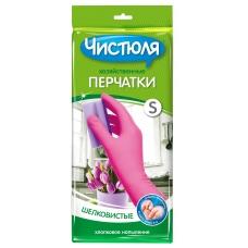 ЧИСТЮЛЯ Перчатки резиновые 7(S)