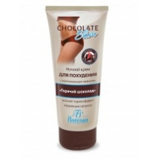 Ночной крем Горячий шоколад с разогревающим эффектом для похудения 200 мл.