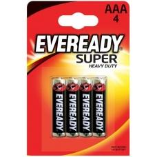 Батарейки EVEREADY SHD R6/AAA 4 шт.