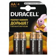 DURACELL Батарейка Basic AA 1,5V LR6 4 шт.