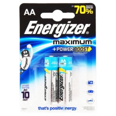 Батарейки Energizer MAXimum LR6/E91 АA 2 шт.
