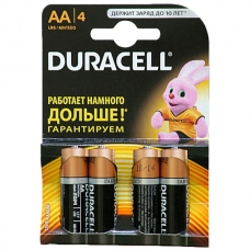 DURACELL Батарейка Turbo AA 1,5V LR6 4 шт.