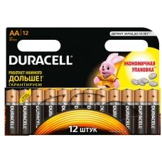 DURACELL Батарейка Basic AA 1,5V LR6 12 шт.
