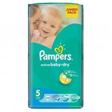 Подгузники Pampers Active Baby-Dry Junior (11-18 кг.) 58 шт.