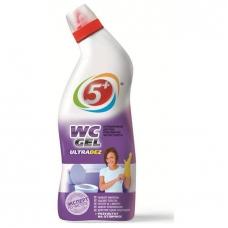 Чистящее средство 5+ WC GEL ULTRADEZ 750г.