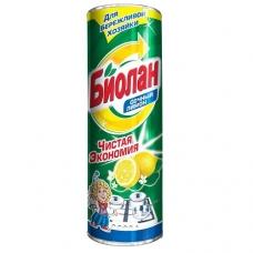 Чистящее средство «Биолан»  Сочный лимон 400 г.