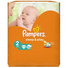 Подгузники Pampers Sleep & Play (3-6 кг.) 18 шт.