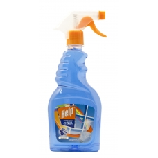 Средство для мытья стекол «Help» Свежий озон 500 мл.
