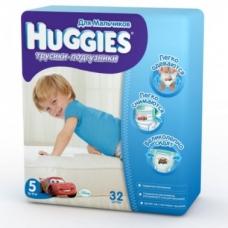 Подгузники HUGGIES Трусики-подгузники для мальчиков 13-17кг. 32шт