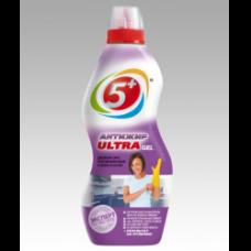 Средство для чистки кухонных плит 5+ АНТИЖИР ULTRA gel 500г.