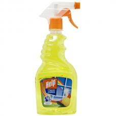 Средство «Help» для мытья стекол Лимон 750мл.