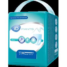 Подгузники-трусы iD PANTS размер М 10шт.