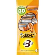 Bic Бритва Bic3 Sensitive для чувствительной кожи 4 шт+2шт
