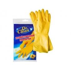 Перчатки резиновые Dr. Clean хозяйственные L