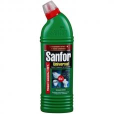 Чистящее средство SANFOR Universal 10в1 Зеленое яблоко 500мл.