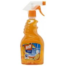 Средство «Help» для мытья стекол и пластиковых окон 750 мл.