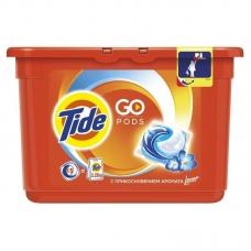 Гель в растворимых капсулах Tide C прикосновением аромата Lenor 15х25,2 г.