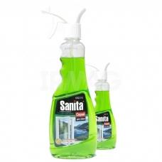 Чистящее средство SANITA Спрей для стекол Скандинавская весна 500мл.