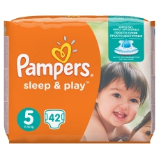 Подгузники Pampers Sleep & Play (11-18 кг.) 42 шт.
