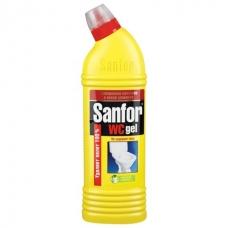 Чистящее средство SANFOR WC-гель Лимон 500мл.