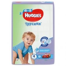 Подгузники HUGGIES Трусики-подгузники для мальчиков 9-14кг. 34шт