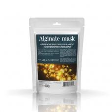 Альгинатная золотая маска с экстрактом женьшеня 30 г.