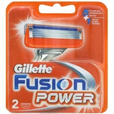 Сменные кассеты для бритья Gillette FUSION Power 2 шт.
