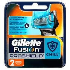 Сменные кассеты для бритья Gillette Fusion ProShield 2шт.