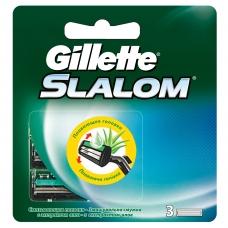 Сменные кассеты для бритья Gillette Slalom 3 шт.