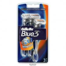 Бритвы одноразовые Gillette Blue 3, 3 шт.