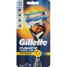 Мужская Бритва Gillette Fusion5 ProGlide Power с Технологией FlexBall