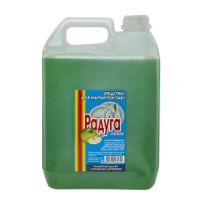 Средство для мытья посуды Радуга Яблоко 5 л.